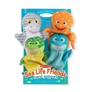 Кукли за ръце за куклен театър Морски обитатели Melissa & Doug 19117 (1)