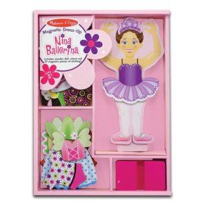Магнитна кукла за обличане Балерината Нина Melissa & Doug 13554 (1)