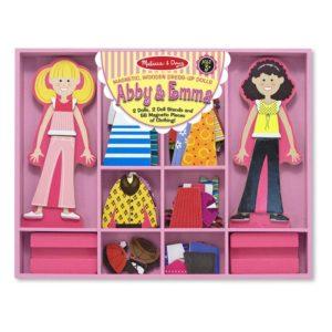 Магнитни кукли за обличане Аби и Ема Melissa & Doug 14940 (1)