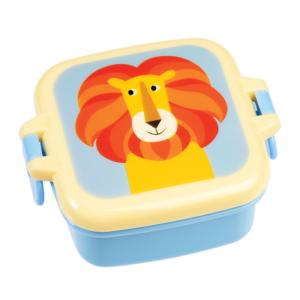 Малка детска кутия за храна Лъвът Чарли Rex London 26987 (1)