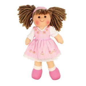 Мека кукла Роуз 28 см BigJigs BJD007 (1)