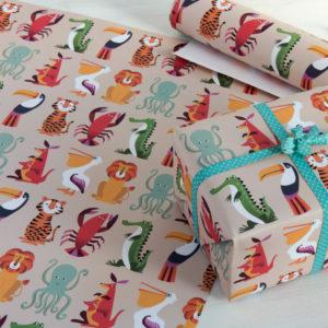 Опаковъчна хартия Цветни създания Rex London 26423 (1)