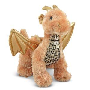 Плюшена играчка Драконът Блясък Melissa & Doug 17571 (1)
