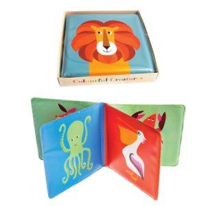 Бебешка книжка за баня Цветни създания Rex London 28479 (1)