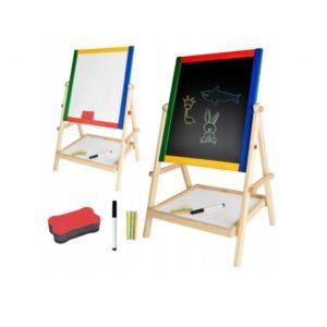 Детска двустранна магнитна дъска за писане KRU8905 (1)