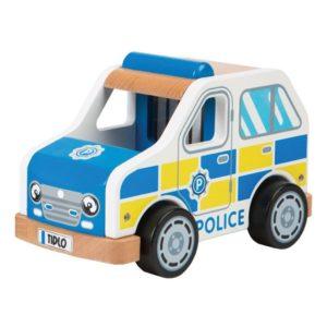 Детска дървена играчка полицейска кола BigJigs T0508 1
