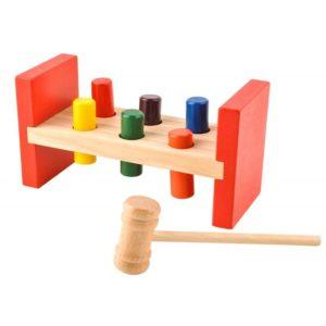Детска дървена игра с чукче KRU7708 (1)