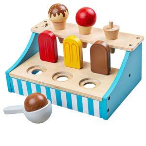 Детска дървена стойка със сладолед BigJigs BJ020 (1)