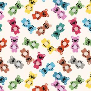 Детска опаковъчна хартия Желирани мечета Rex London 27603 (1)