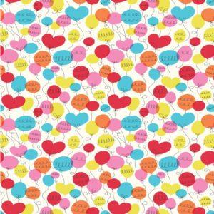 Детска опаковъчна хартия Парти балони Rex London 27606 (1)