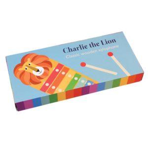 Детски ксилофон Лъвът Чарли Rex London 28543 (1)