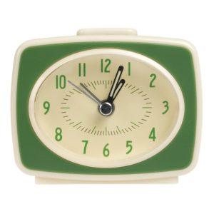Детски ретро будилник с дизайн на телевизор Зелен Rex London 24955 (2)