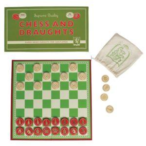 Игра 2 в 1 Шах и шашки Rex London 24587 (1)