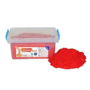 Кинетичен пясък 3000 грама - червен 029 1