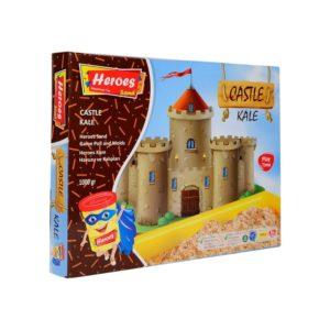 Комплект Замъци, 1500 грама кинетичен пясък, голям басейн, 6 фигурки kum-011 1 (1)