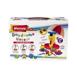Комплект за приготвяне на сладолед от естествен модел PLAY DOUGH 537 (1)
