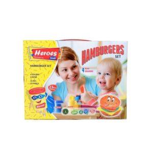 Комплект за приготвяне на хамбургер PLAY DOUGH - пластмасова машина 538-1 (1)