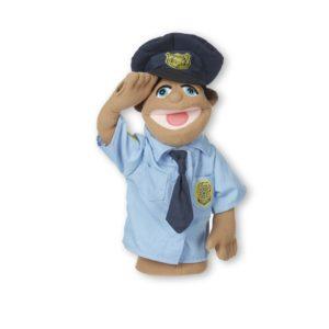 Кукла за ръка за куклен театър Полицай Melissa & Doug 40351 (1)