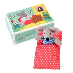Мека детска играчка Мишка в малка къща Rex London 28952 (1)