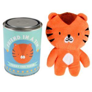 Мека играчка в консерва Тигърчето Тери Rex London 28118 (1)