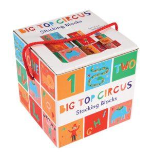 Образователни картонени кубчета Цирк Rex London 28309 (1)