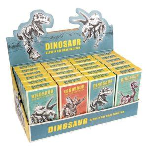Светещ в тъмното триизмерен пъзел Динозаври Различни видове Rex London 28897 (1)
