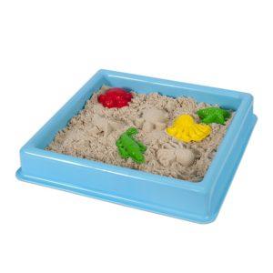 Син басейн за игра с кинетичен пясък 30 х 30 см 015 3 (1)