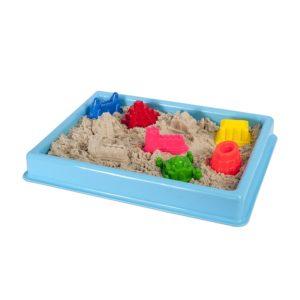 Син басейн за игра с кинетичен пясък 30 х 40 см 016 3 (1)