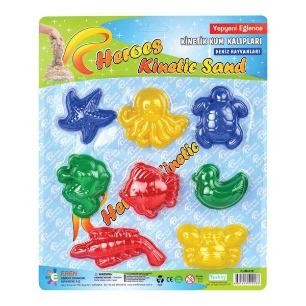 Фигурки за кинетичен пясък Морски животинки 018 1 1