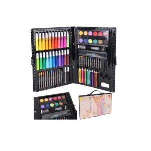 Детски творчески комплект за рисуване с 86 включени елемента KRU9173 (1)
