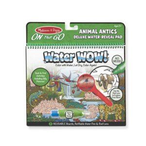 Книжка за оцветяване на водна основа Праисторически животни Melissa & Doug 1