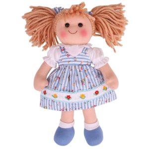Мека кукла Кристин 34 см Bigjigs 1