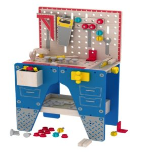Детска голяма дървена маса с инструменти Acool Toy ACT128