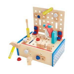 Детска дървена маса с циркуляр и инструменти Acool Toy ACT52