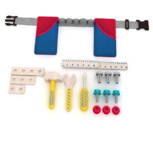 Детски колан с дървени инструменти и 17 части Acool Toy ACT51