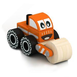 Дървена детска играчка за сглобяване валяк Acool Toy ACT70