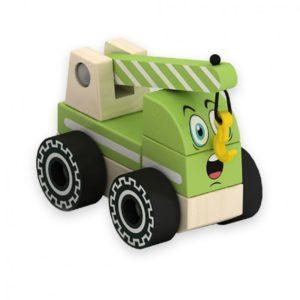 Дървена играчка за сглобяване кран комплект Acool Toy ACT73