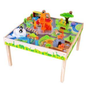 Дървена маса за игра зоологическа градина Acool Toy ACT65