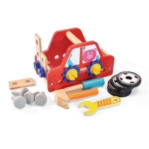 Дървен конструктор кола за сглобяване Acool Toy ACT18