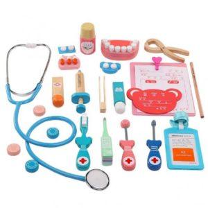 Дървен медицински комплект за деца Acool Toy ACT58