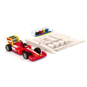 Дървен състезателен автомобил направи си сам Acool Toy ACT91