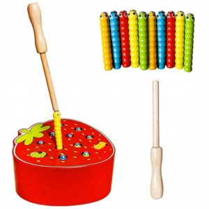 Детска магнитна игра Риболов с ягода KRU10978 1 (1)
