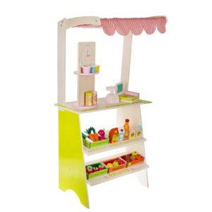 Детски дървен магазин с аксесоари KRU11247 1 (1)
