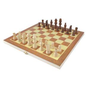 Дървен детски шах KRU4297 (1)