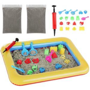 Комплект за игра с кинетичен пясък KRU9095 1 (1)