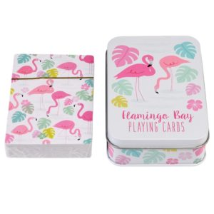 Кутия с карти за игра Фламинго Rex London (1)