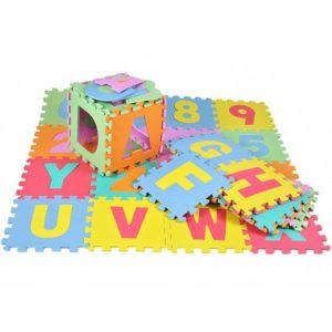 Мек пъзел-подложка с цифри и букви сглобяем KRU4693 1 (1)