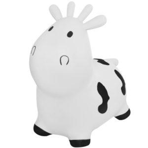 Подскачаща гумена играчка - Бяла крава KRU8773 1 (1)
