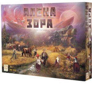 Алена зора - семейна настолна парти игра с карти