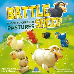 Къдрави овци - настолна детска семейна игра с плочки